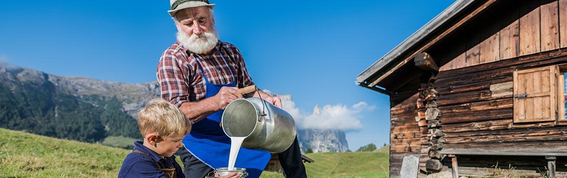 Südtiroler Feinkost und Spezialitäten mit Berggut