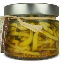 eingelegte Zucchini als Brotzeitbeilage