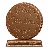 knusprige Vollmilchschokoladenspezialität aus Südtirol mit Haselnusscreme