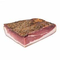 Bauernschinken 100% vom Südtiroler Schwein g.g.A., verarbeitet in der Metzgerei Steiner im Pustertal