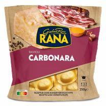 Ricotta-Käse, Pancetta, Frisch- und Mascarpone-Käse, Pecorino Romano DOP-Käse, Parmigiano Reggiano Käse alles in einer Pasta!