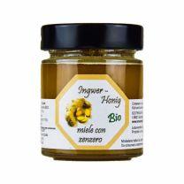 Südtiroler Bio Honig mit Ingwer