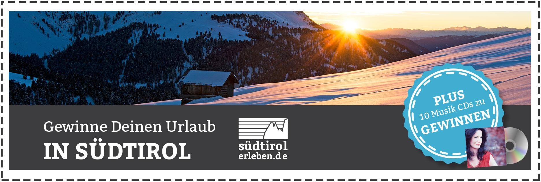 Südtirol Dezember Gewinnspiel