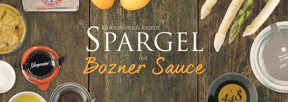 Spargel mal anders | Bozner Sauce