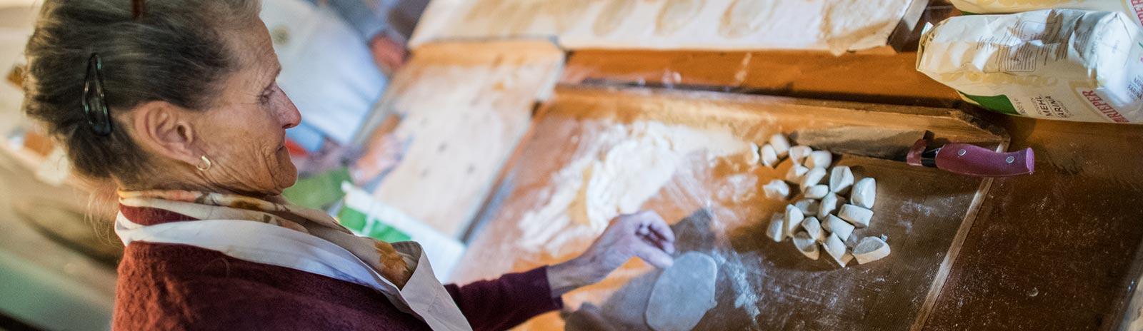 Die traditionelle bäuerliche Küche