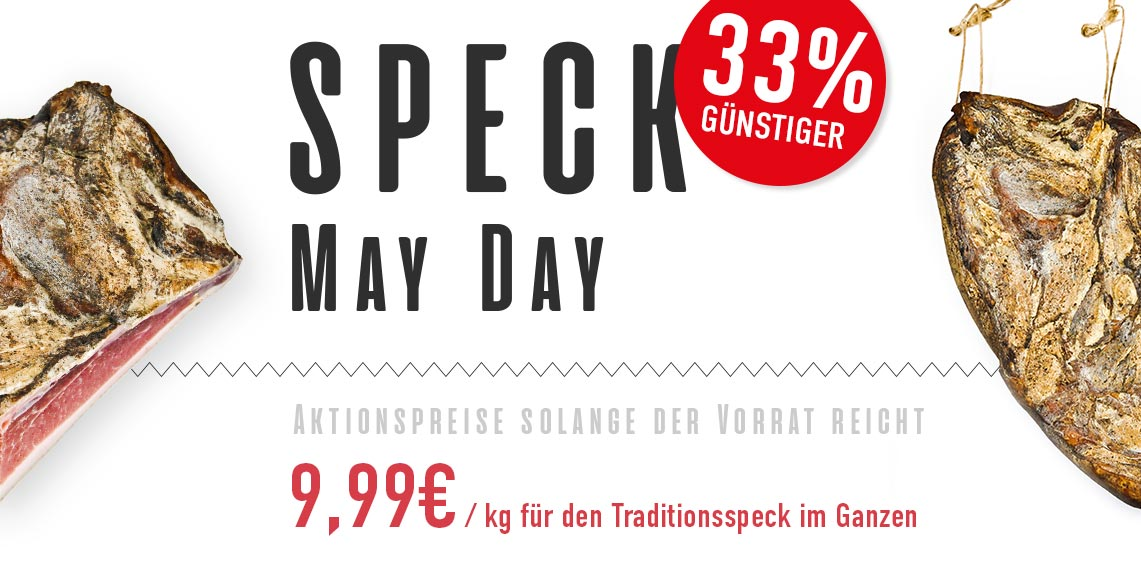 Berggut Speck MayDay 2021