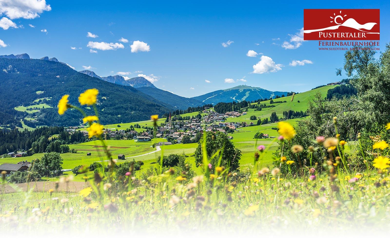 Urlaub auf dem Bauernhof in Südtirol